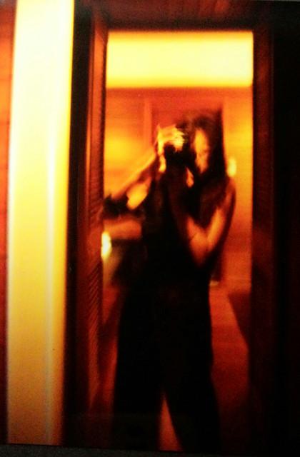 鏡の中の…